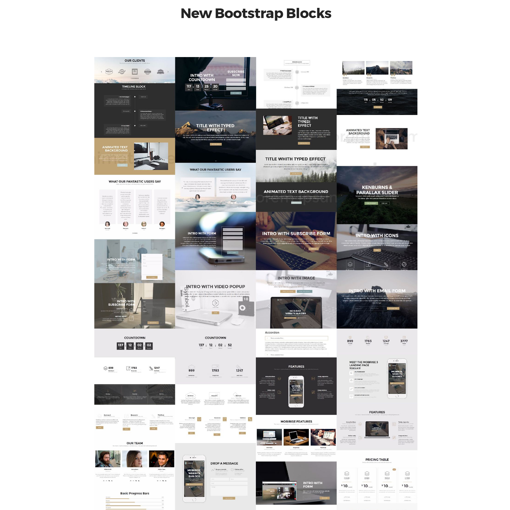 Responsive New Bootstrap Themes