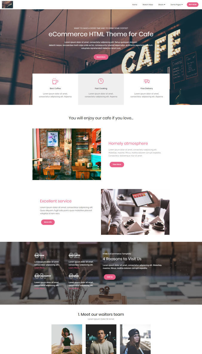 Professional Website Template