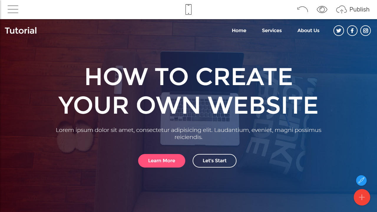 how to make a free website