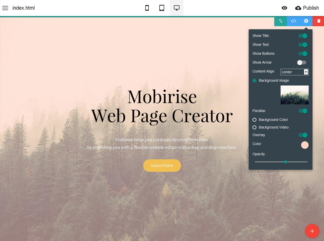online web page creator - 3